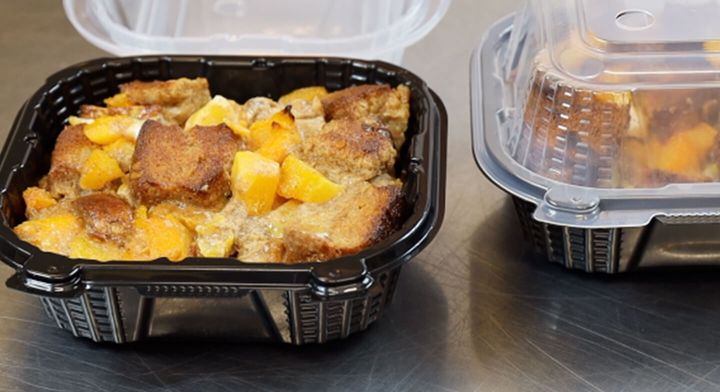 Spice French Toast Peach Bake